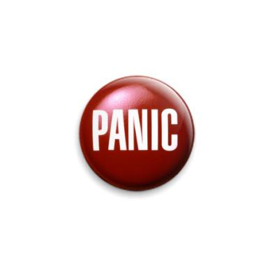 Значок 25мм  Panic