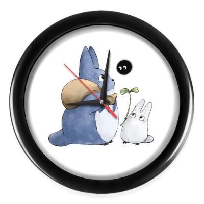 Настенные часы Наши соседи Тоторо
