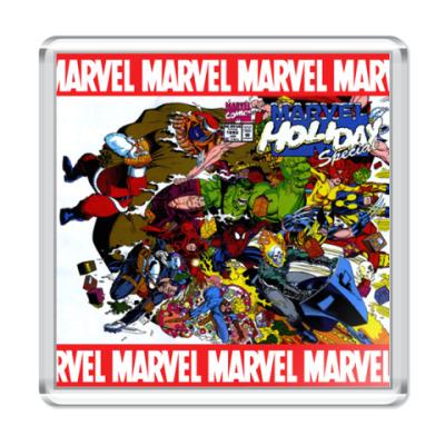 Магнит Marvel Holiday Special!