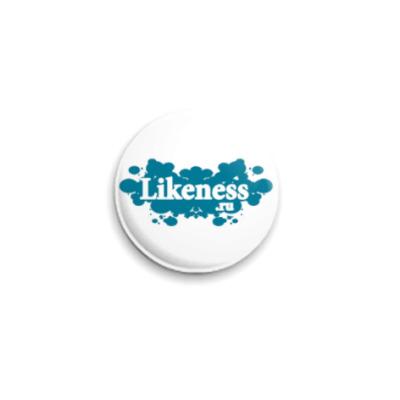 Значок 25мм  Likeness.ru