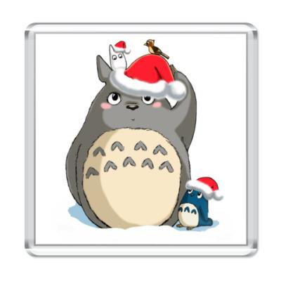 Магнит Totoro's X-mas