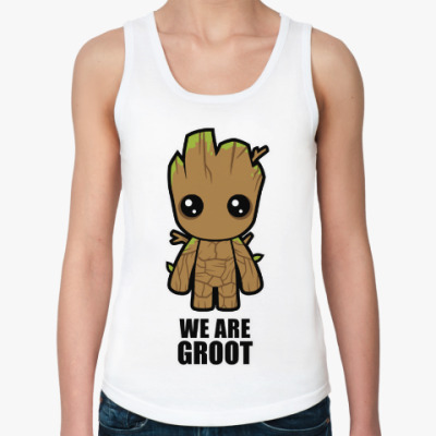 Женская майка We are Groot