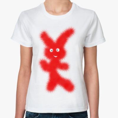Классическая футболка  Зая