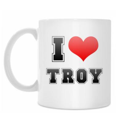 Кружка I love Troy