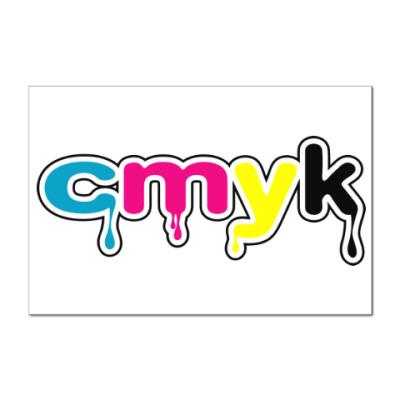 Наклейка (стикер) CMYK