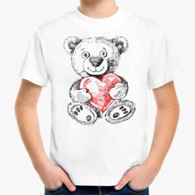Детская футболка Медвежонок
