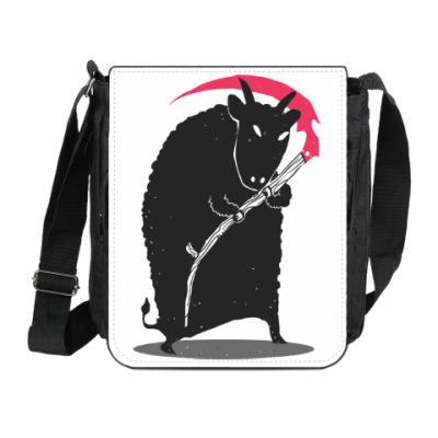 Сумка на плечо (мини-планшет) Мрачный убийца