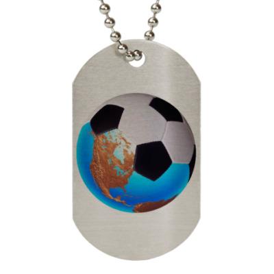 Жетон dog-tag Мяч.