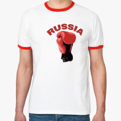 Футболка Ringer-T Россия бокс
