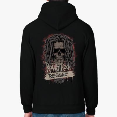 Толстовка худи Bob Marley Roots, Rock, Reggae