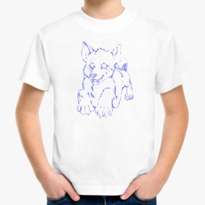 Детская футболка Щенок