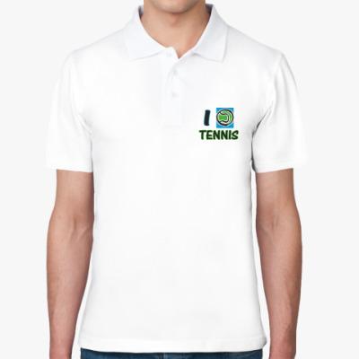 Рубашка поло Я играю в теннис !