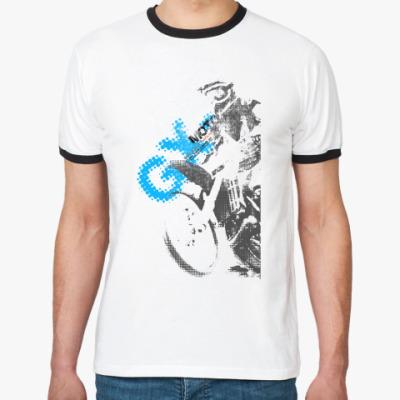 Футболка Ringer-T GX-moto Cross