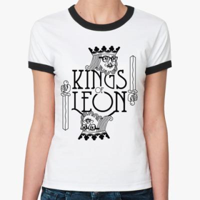 Женская футболка Ringer-T Kings of Leon