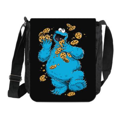 Сумка на плечо (мини-планшет) Cookie Monster