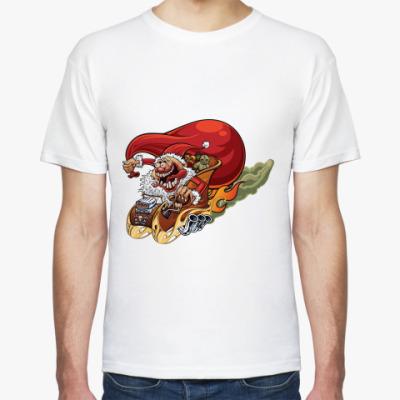 Футболка Crazy Santa