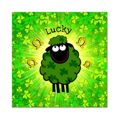 Наклейка (стикер)  Lucky