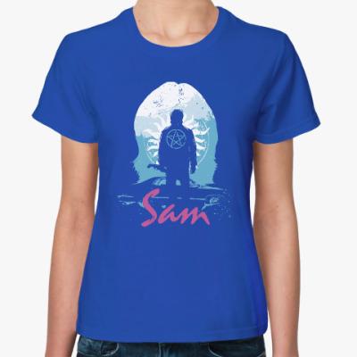Женская футболка Sam - Supernatural