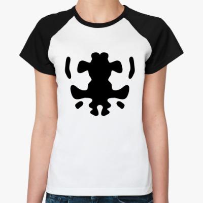Женская футболка реглан  Rorshah