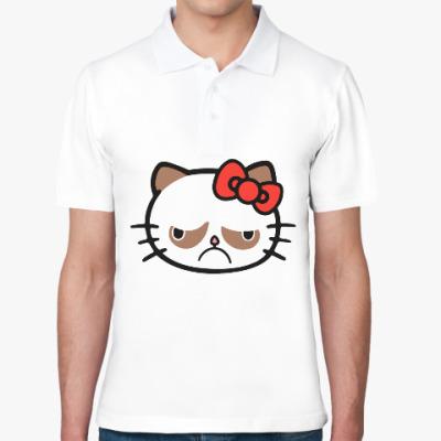 Рубашка поло Hello Grumpy Cat