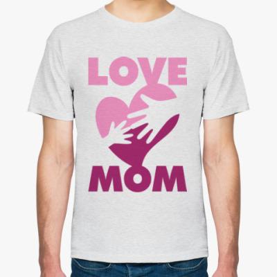 Футболка Love mom