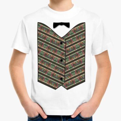 Детская футболка Жилет ж.5