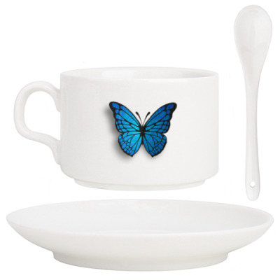 Кофейный набор бабочка