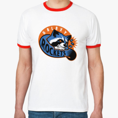 Футболка Ringer-T Galaxy Rockets