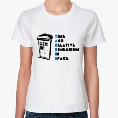 Классическая футболка Тардис