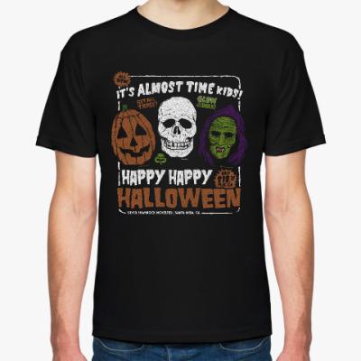Футболка Счастливого Хэллоуина