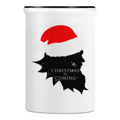 Подставка для ручек и карандашей Christmas is coming