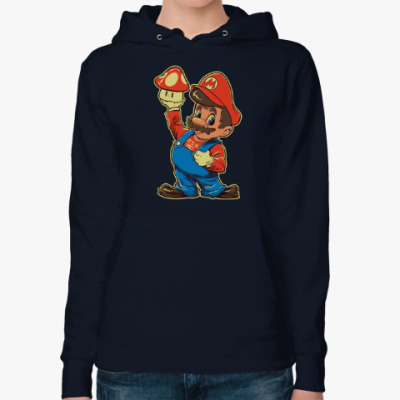 Женская толстовка худи Супер Марио