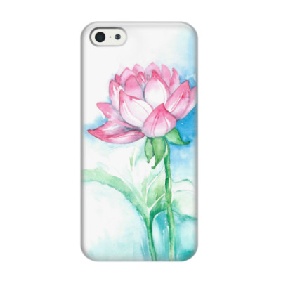 Чехол для iPhone 5/5s Лотос