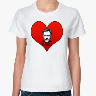 Классическая футболка House Heart