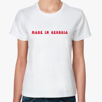 Классическая футболка Made in Georgia