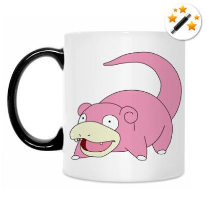 Кружка-хамелеон Slowpoke
