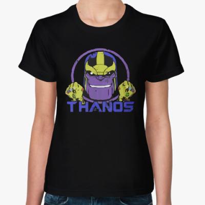 Женская футболка Танос