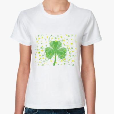 Классическая футболка Св. Патрик
