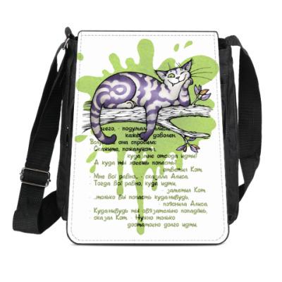 Сумка-планшет Чеширский кот