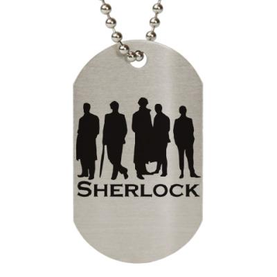 Жетон dog-tag Шерлок(Sherlock)