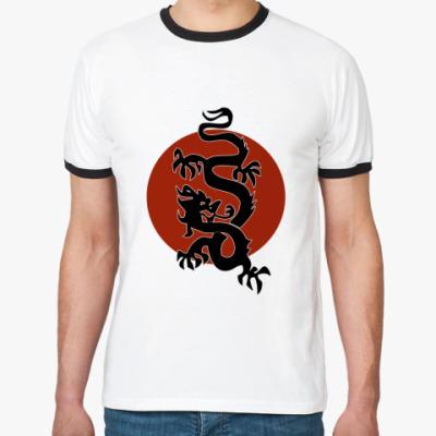 Футболка Ringer-T Dragon
