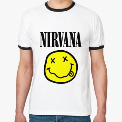 Футболка Ringer-T Nirvana