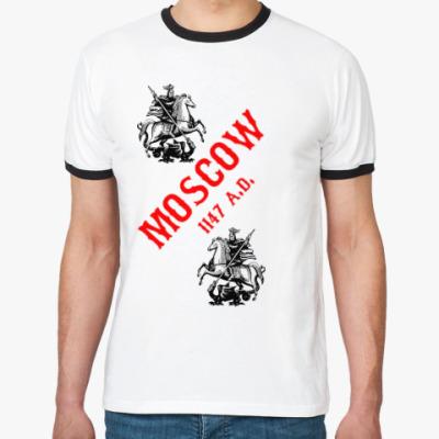 Футболка Ringer-T Moscow