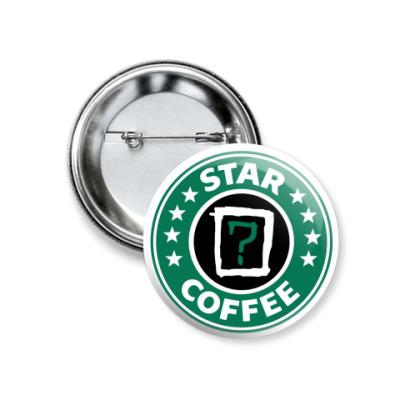 Значок 37мм Coffee