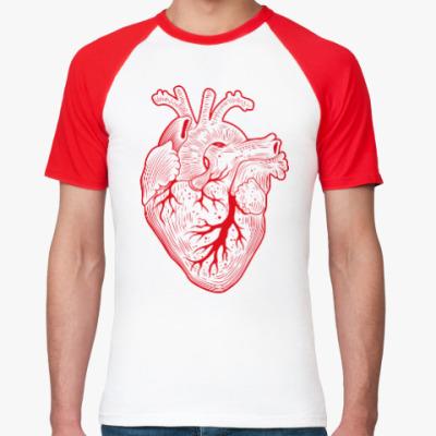 Футболка реглан HEART