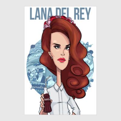 Постер Лана Дель Рей