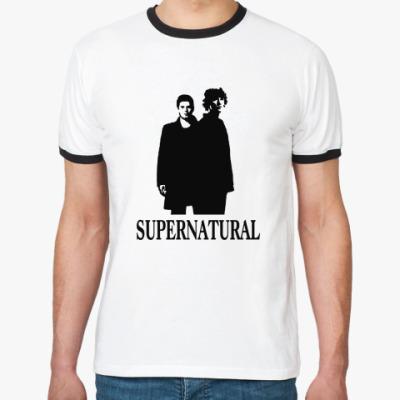 Футболка Ringer-T Supernatural Sam&Dean
