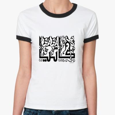 Женская футболка Ringer-T   Катя