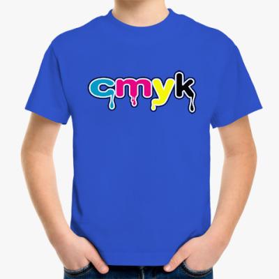Детская футболка CMYK