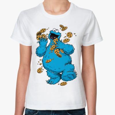 Классическая футболка Cookie Monster